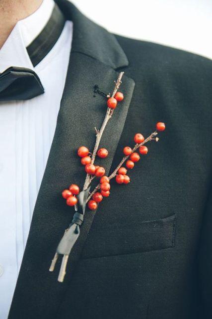 Picture Of Elegant Rustic Winter Wedding Ideas 22