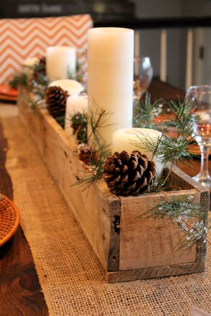 Picture Of Elegant Rustic Winter Wedding Ideas 26