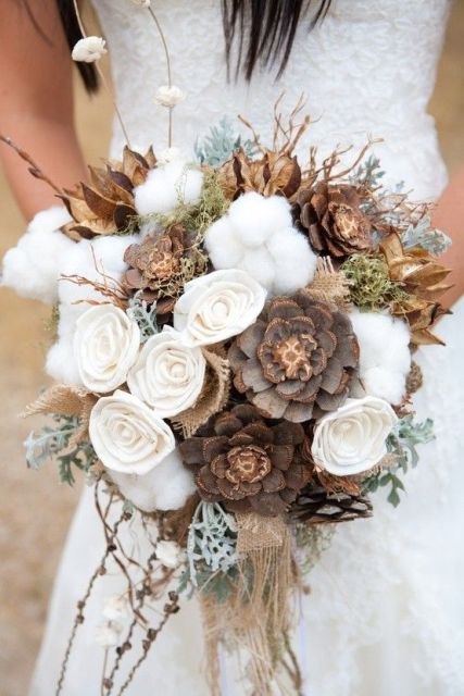 Picture Of Elegant Rustic Winter Wedding Ideas 5