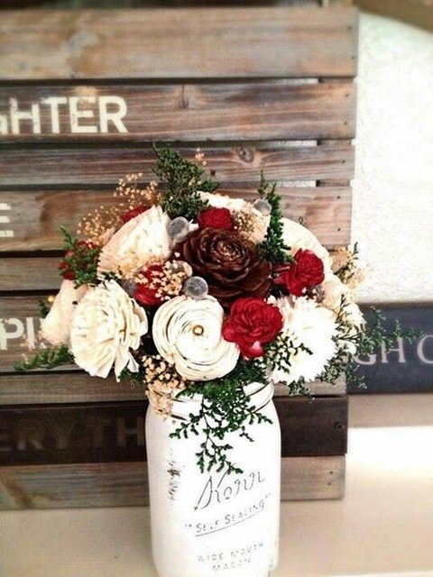 Picture Of Elegant Rustic Winter Wedding Ideas 7