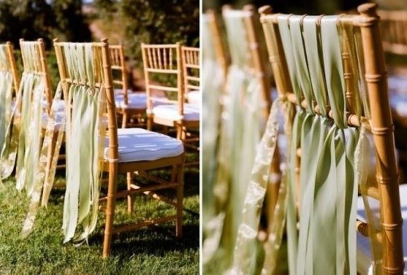 28 Chair Decor Ideas With Fabric And Ribbons Weddingomania