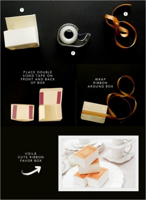 3 Diy Easy And Beautiful Favor Box Ideas