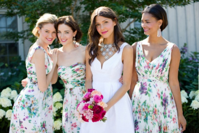 Picture Of 3 latest bridesmaids dress trends for spring summer 2015  1