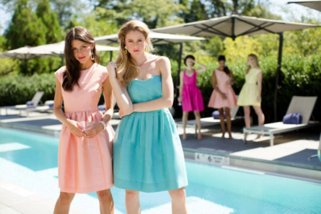 Picture Of 3 latest bridesmaids dress trends for spring summer 2015  6