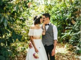 30 Beautiful Crop Top Wedding Gowns17