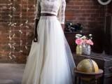 30 Beautiful Crop Top Wedding Gowns22