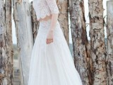 30 Beautiful Crop Top Wedding Gowns4