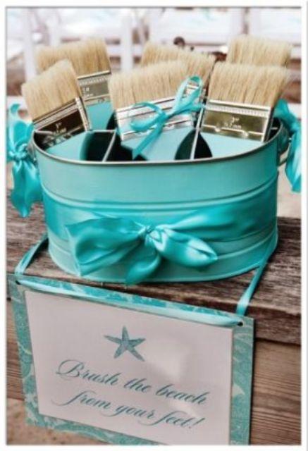 Picture Of Blue Beach Wedding Ideas 25