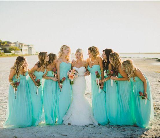 Picture Of Blue Beach Wedding Ideas 4