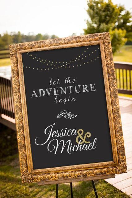 Picture Of Creative And Trendy Chalkboard Wedding Ideas