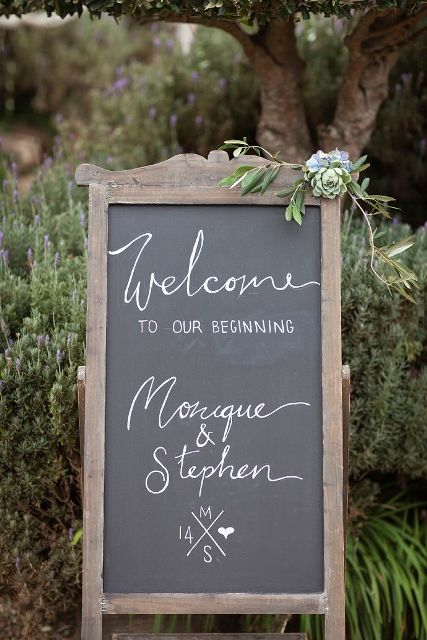 Picture Of Creative And Trendy Chalkboard Wedding Ideas 14