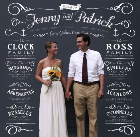 Picture Of Creative And Trendy Chalkboard Wedding Ideas 16