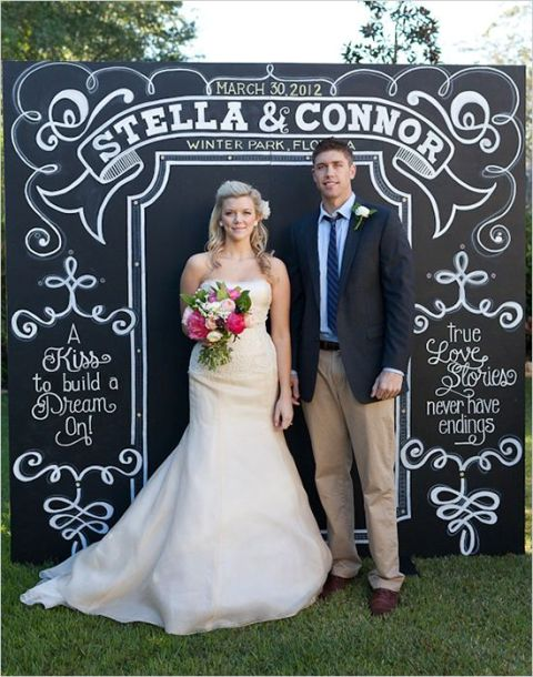 Creative And Trendy Chalkboard Wedding Ideas
