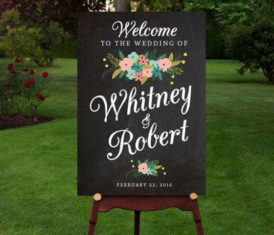 Picture Of Creative And Trendy Chalkboard Wedding Ideas 20
