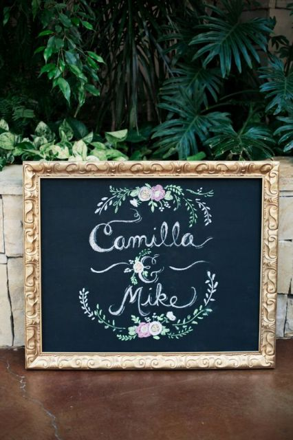 30 creative and trendy chalkboard wedding ideas for Unique chalkboard ideas