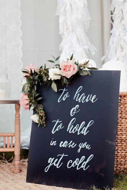 Picture Of Creative And Trendy Chalkboard Wedding Ideas 27