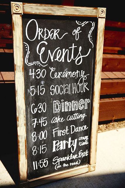 Picture Of Creative And Trendy Chalkboard Wedding Ideas 5