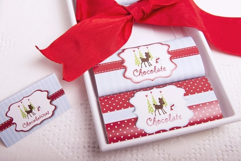 chocolate packs are always a lovely idea, and if you personalize the packs somehow, they will be amazing