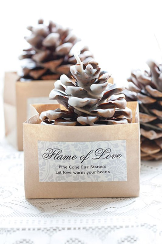 picture of amazing christmas wedding favors to get inspired - Christmas Wedding Favors