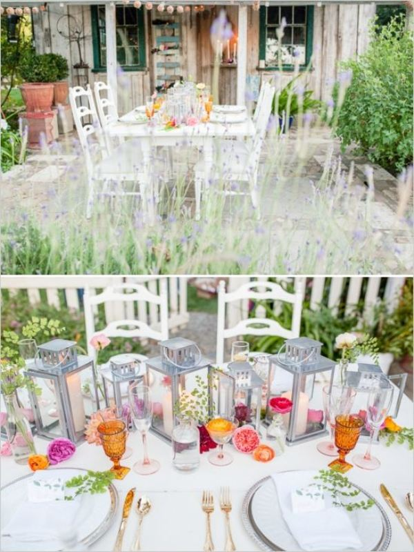 Picture Of awesome backyard wedding tables to get inspired  20