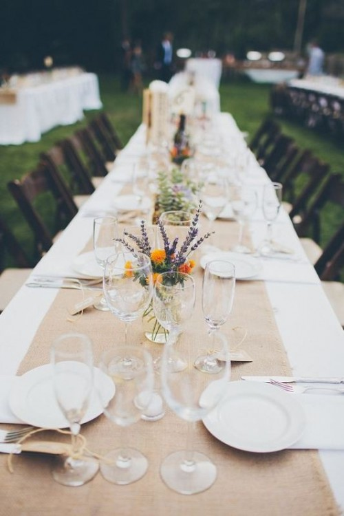 Awesome Backyard Wedding Tables To Get Inspired