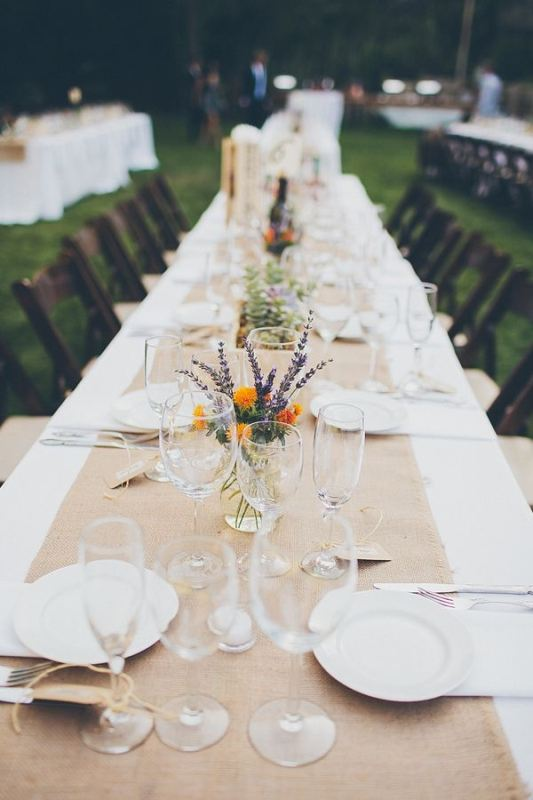 Picture Of awesome backyard wedding tables to get inspired  24