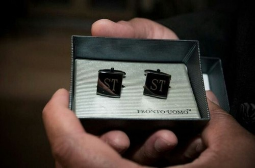 chic personalized cufflinks are a perfect and absolutely timeless gift idea for groomsmen