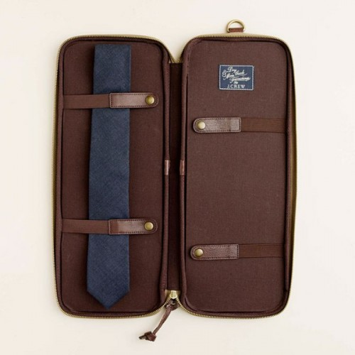 a tie for wearing at your wedding packed in a stylish case is a great gift for those who work at an office and wear ties every day