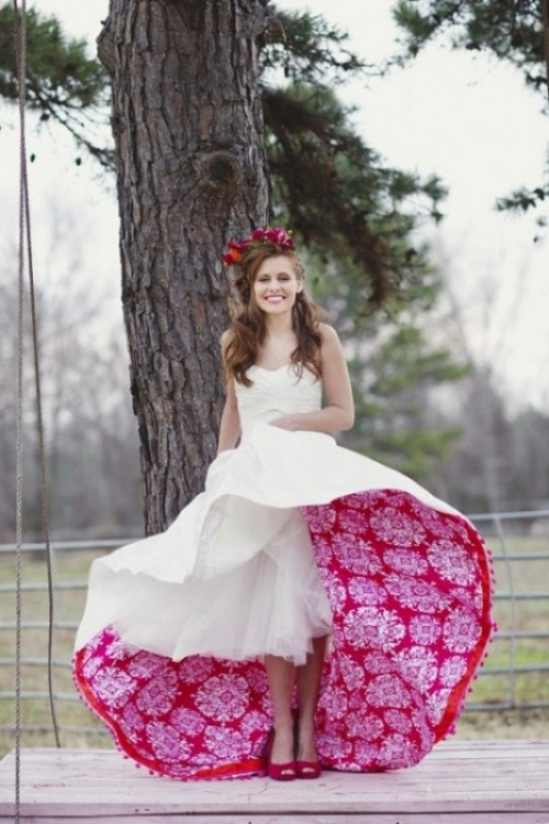 Awesome Ideas Of Rocking Colorful Wedding Shoes Trend