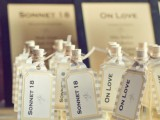 drinks are always great wedding favors for any hot weather wedding, tropical, beach or summer one