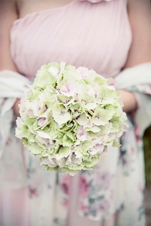 Beauteous One Flower Bridal Bouquets