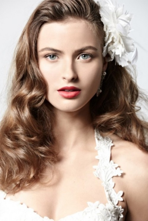 Wedding Hairstyles For Long Natural Hair : ... stylish wedding hair ideas we love 20 wedding hair tutorials that