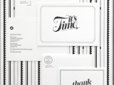 30 Black And White Wedding Invitations