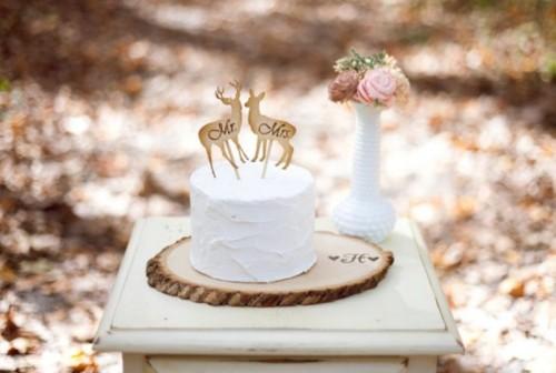 Cozy Rustic Wood Themed Wedding Ideas