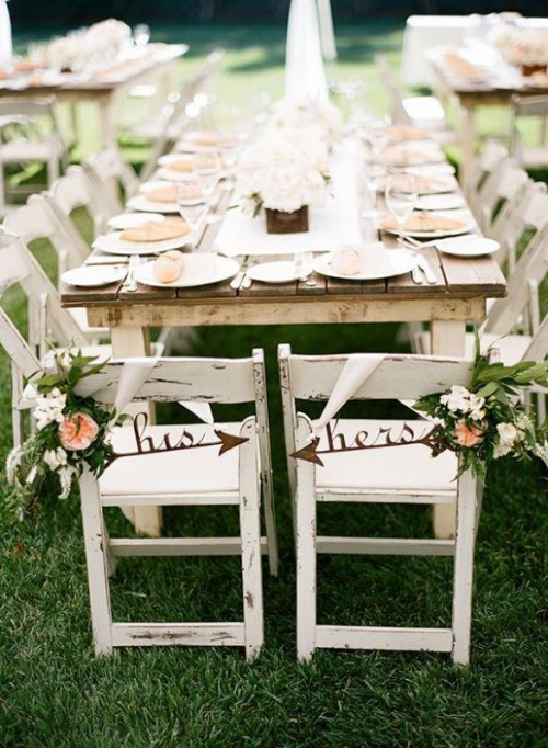 30 Creative Arrow Wedding Inspirational Ideas