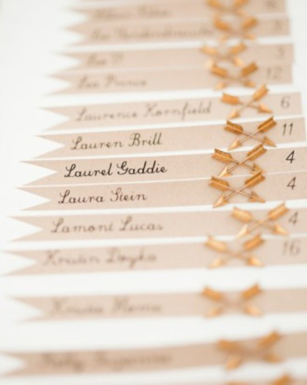 Picture Of creative arrow wedding inspirational ideas  11