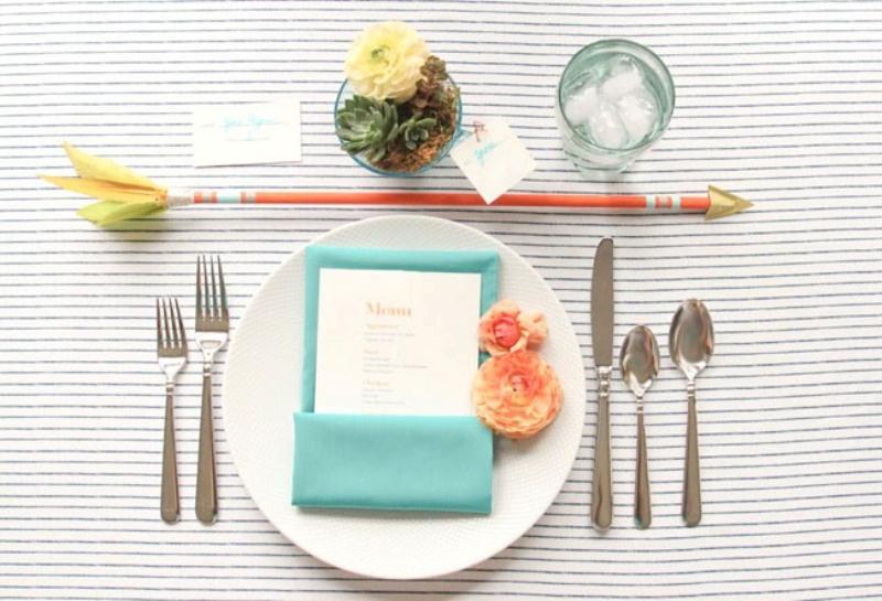 Picture Of creative arrow wedding inspirational ideas  12