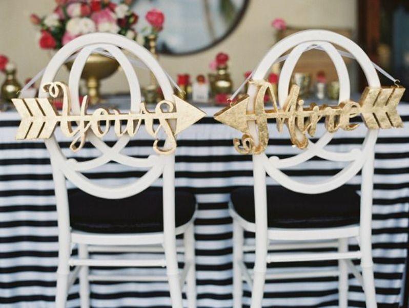 Picture Of creative arrow wedding inspirational ideas  16