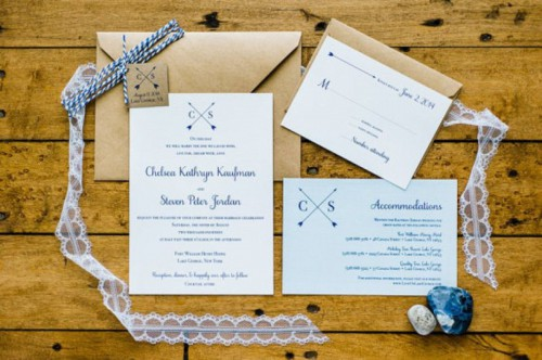 Creative Arrow Wedding Inspirational Ideas
