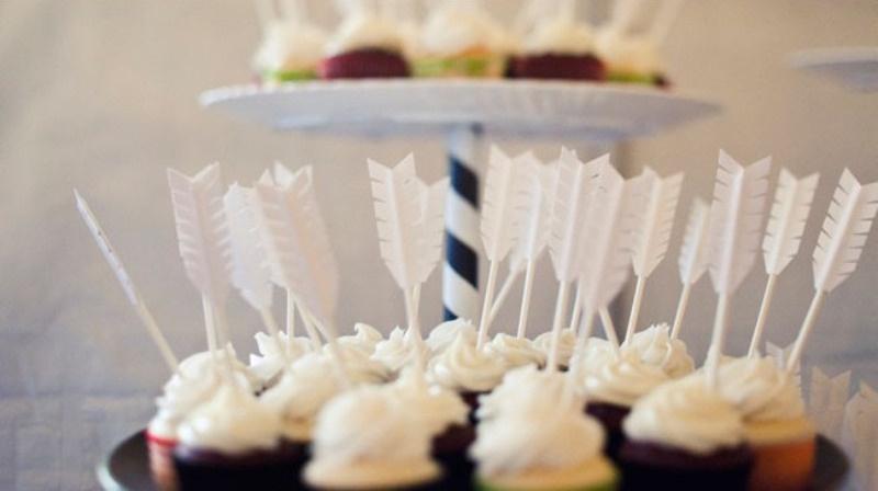 Picture Of creative arrow wedding inspirational ideas  18