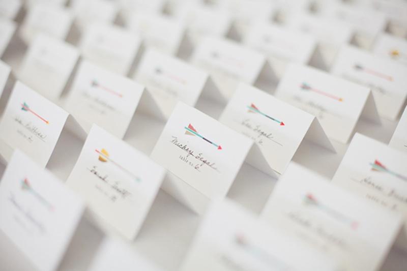 Picture Of creative arrow wedding inspirational ideas  2
