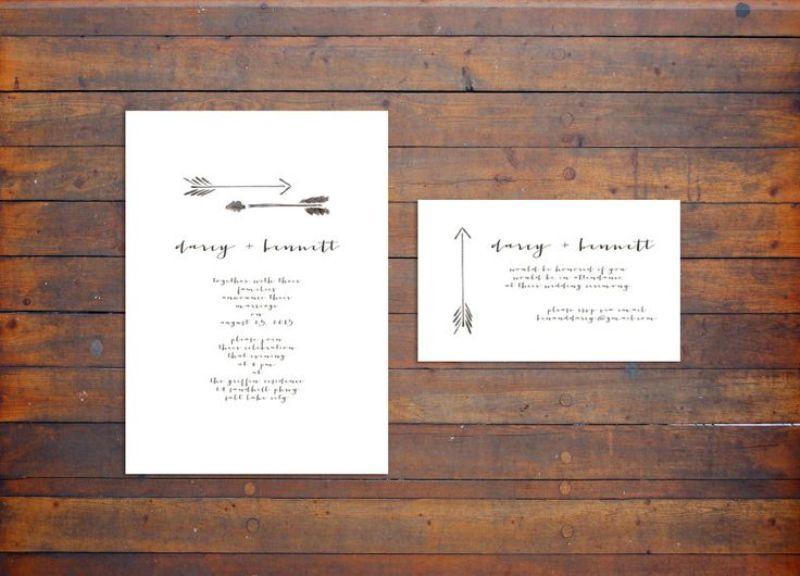 Picture Of creative arrow wedding inspirational ideas  20