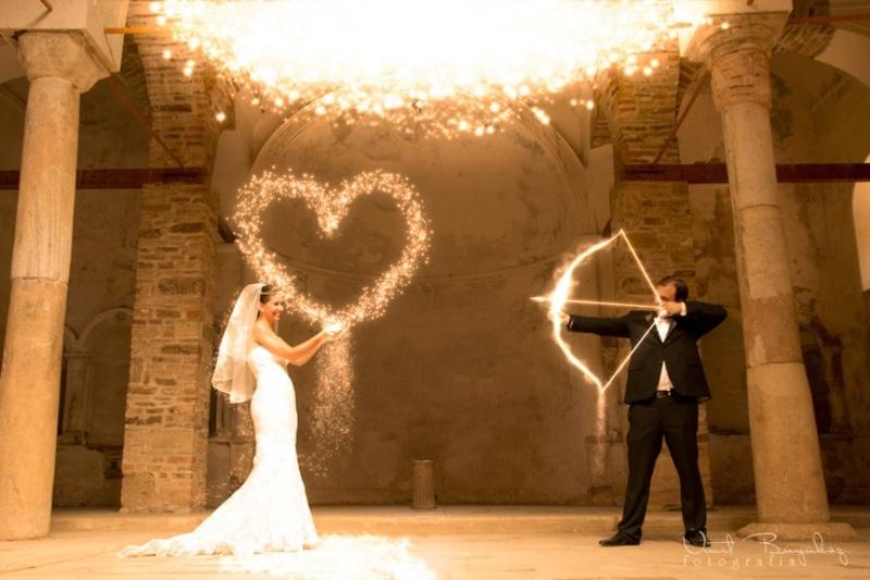 Picture Of creative arrow wedding inspirational ideas  24