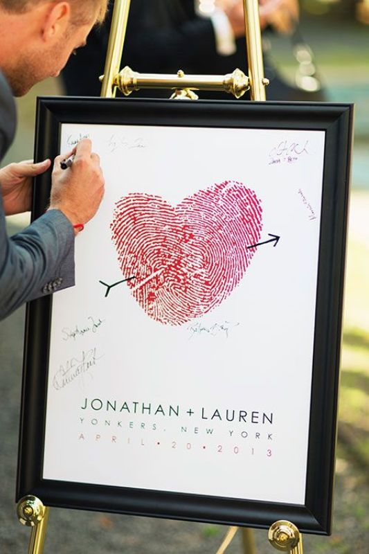 Picture Of creative arrow wedding inspirational ideas  8