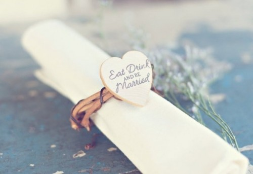Wedding Ring Napkin Holders