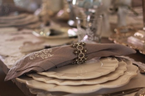 30 creative napkin rings ideas as pretty wedding table decoration