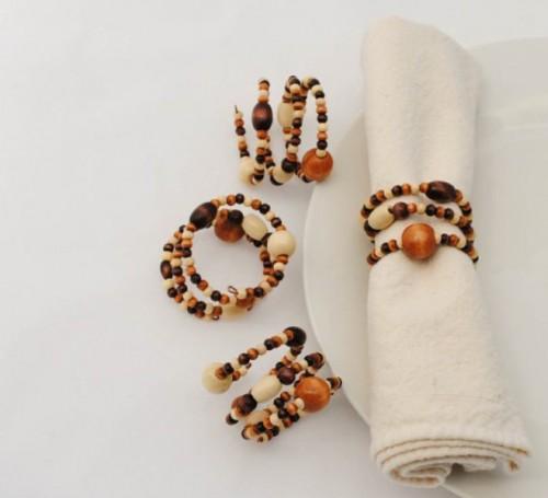 Creative Napkin Rings Ideas As Pretty Wedding Table Decor Adornment