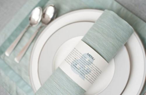 30 creative napkin rings ideas as pretty wedding table decor adornment 20 500x326