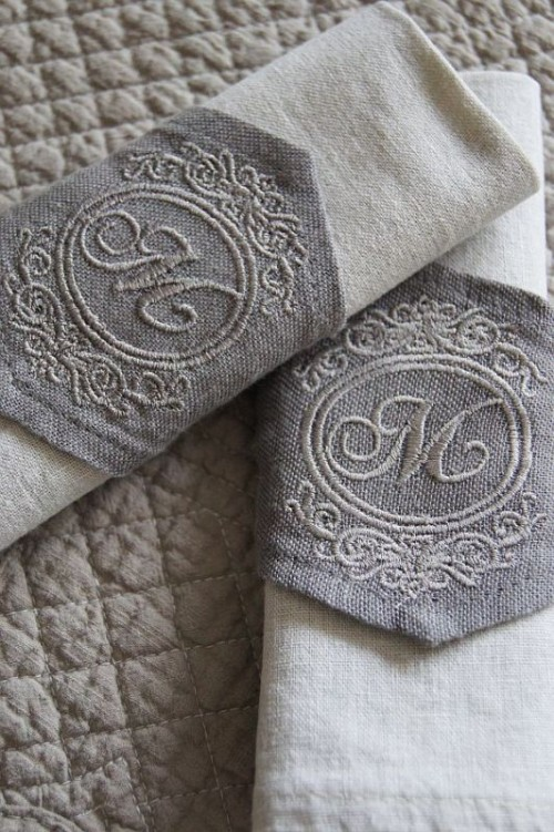 30 Creative Napkin Rings Ideas As Pretty Wedding Table