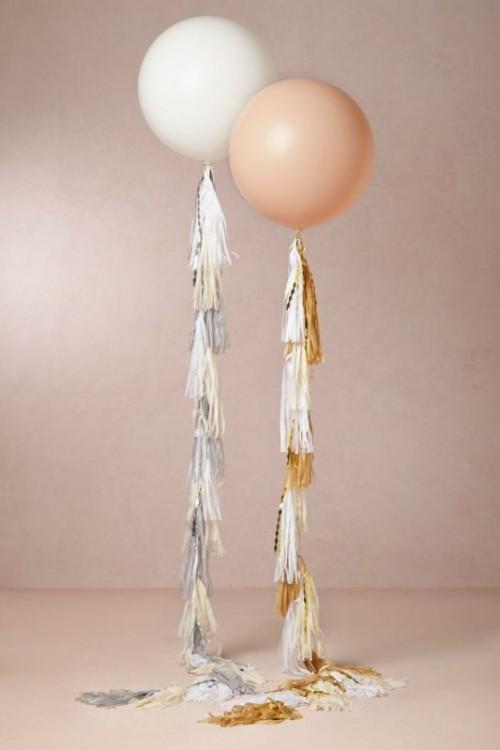 Creative Ways Of Using Tassels In Your Wedding Decor